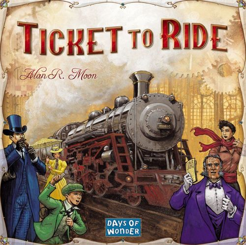 Brädspel Ticket To Ride: USA (svenska)