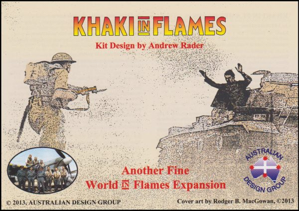 Khaki in Flames