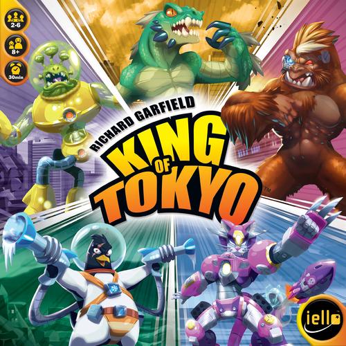 Brädspel King of Tokyo (svenska)