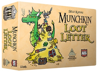 Munchkin Loot Letter (Boxed Edition)