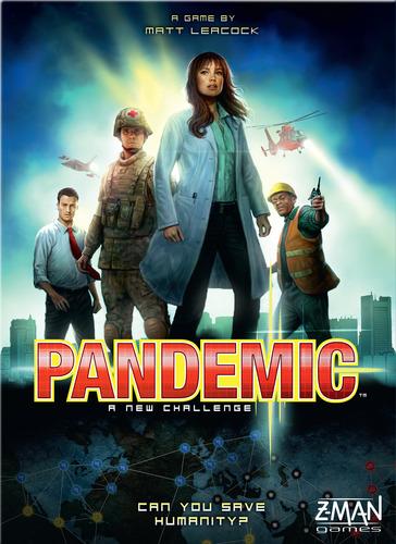Brädspel Pandemic (svenska)