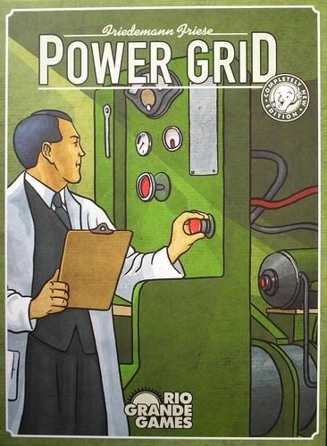 Brädspel Power Grid (svenska)