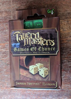 Brädspel Tavern Masters: Games Of Chance Mini-Expansion